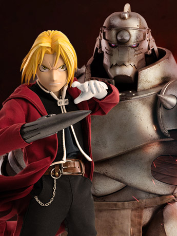 Fullmetal Alchemist: Brotherhood Edward & Alphonse Elric 1/6 Scale Figure Two-Pack
