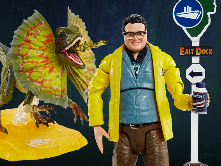 Jurassic Park Amber Collection Figures