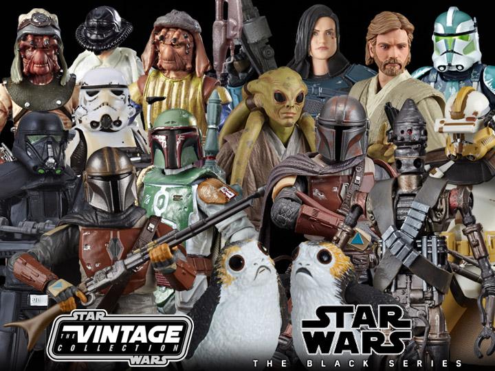 Star Wars Favorites: The Black Series & Vintage Collection