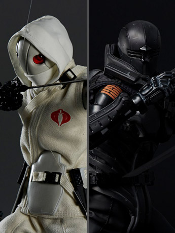 1000toys G.I. Joe x TOA Heavy Industries Storm Shadow & Snake Eyes
