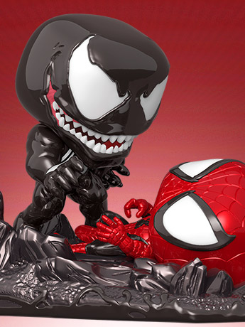 In Stock: Pop! Venom Vs. Spider-Man PX Previews Exclusive