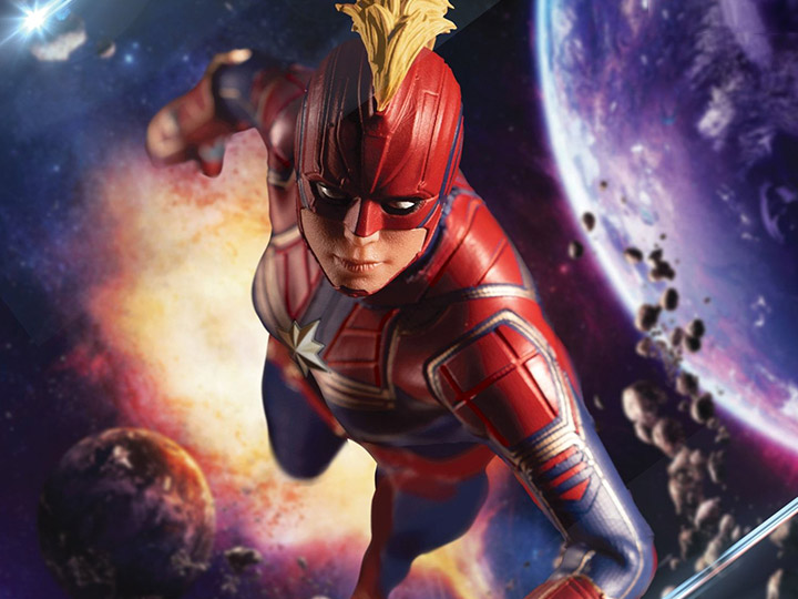 In Stock: Marvel One:12 Collective Captain Marvel