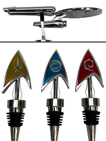 Star Trek: TOS Bottle Stoppers