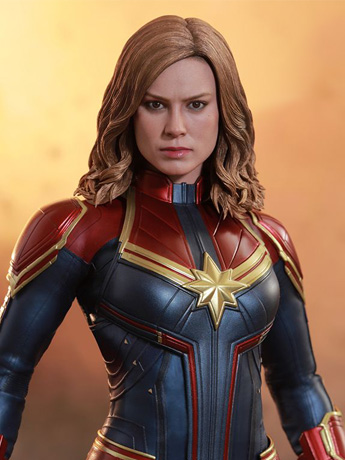 In Stock Hot Toys Captain Marvel 1/6th Scale Collectible Figure