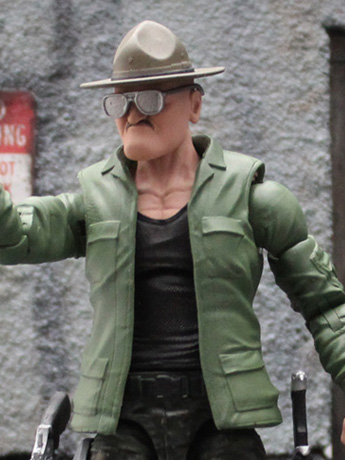 Action Force Sgt. Slaughter 1/12 Scale Action Figure