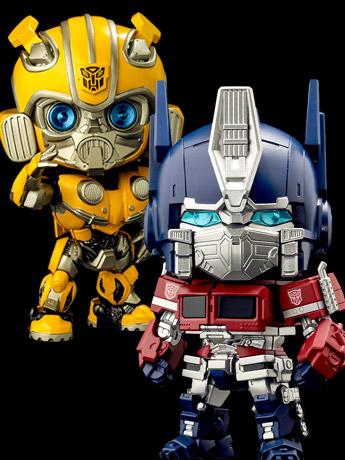 Transformers Nendoroid Optimus Prime & Bumblebee