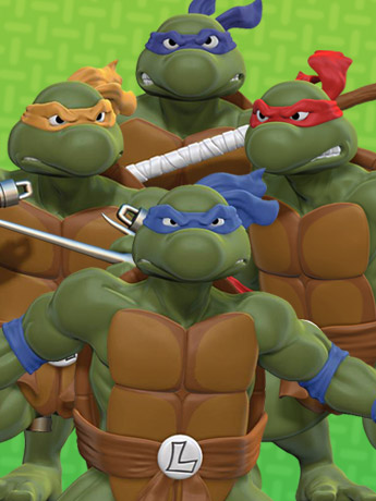 TMNT 1/8 Scale Statues