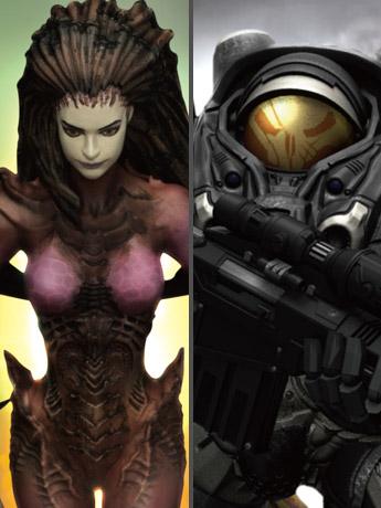 Starcraft II D-Stage Sarah Kerrigan & Jim Raynor