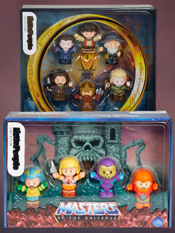 Little People: MOTU, LOTR & The Office