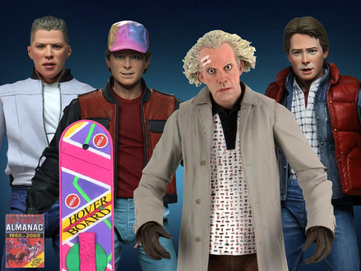 NECA Back to the Future Ultimate Doc, Marty & Biff
