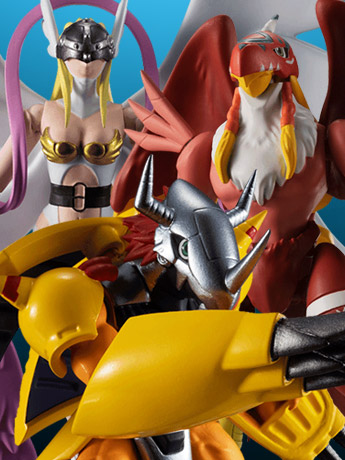 Digimon Adventure Shodo Vol.1 Box of 6 Figures