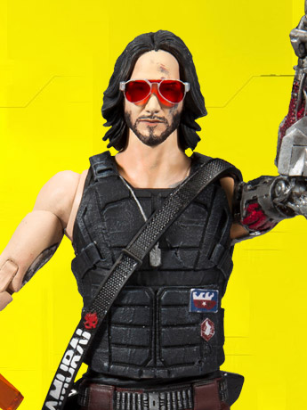 In Stock: Cyberpunk 2077 Johnny Silverhand