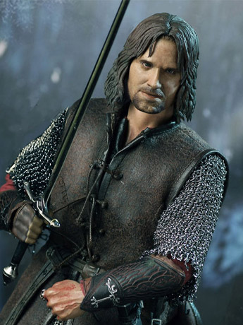 LOTR 1/6 Aragorn & Figures of Fandom