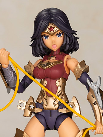 DC Comics Cross Frame Girl Wonder Woman (Humikane Shimada Ver.) Model Kit
