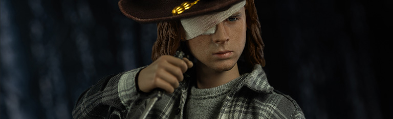 The Walking Dead Carl Grimes (Deluxe) 1/6 Scale Figure