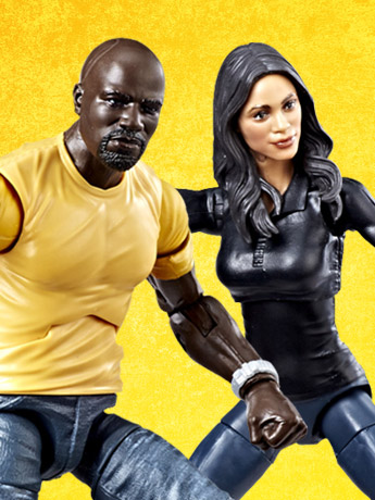 $24.99 Luke Cage Marvel Legends Two-Pack