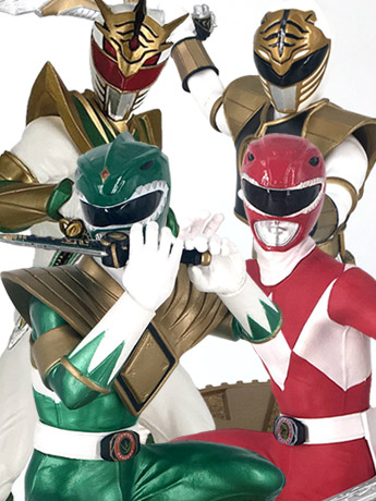 Mighty Morphin Power Rangers 1/8 Scale Statues