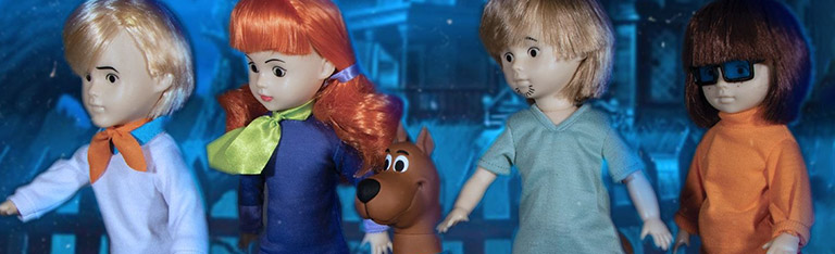 LDD Presents: Scooby-Doo Mystery Inc. Set (Scooby-Doo Build-A-Figure)