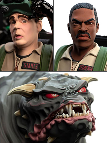 Ghostbusters Mini Epics Zuul, Ray, Winston