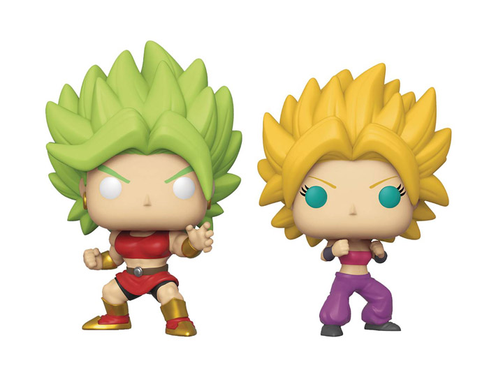 Super Saiyan Kale & Caulifla 2-Pack Exclusive