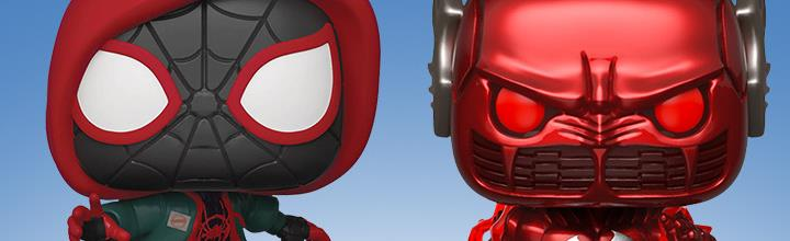 Pop! PX Exclusives: Miles Morales & Red Death
