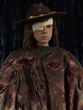 In Stock: The Walking Dead Carl Grimes (Deluxe) 1/6 Scale Figure