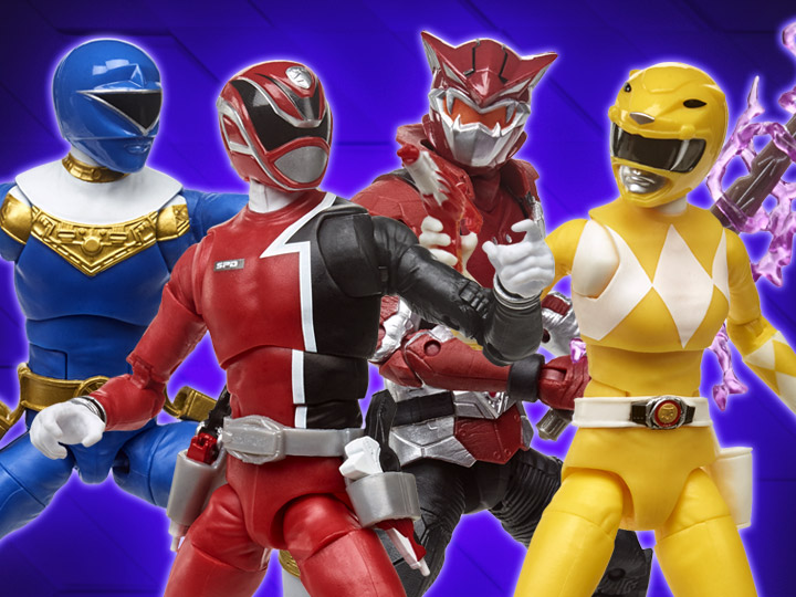 In Stock: Power Rangers Lightning Collection Wave 4