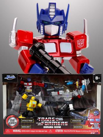 Jada Metalfigs: Transformers, BTAS