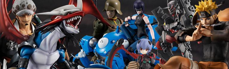 MegaHouse: Digimon, Naruto, Evangelion, One Piece & More!