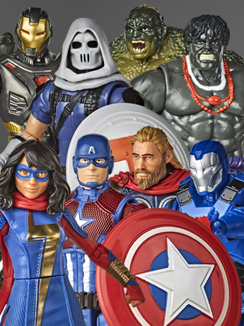 Hasbro Marvel 6 Inch Figures