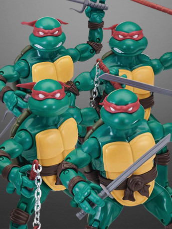 TMNT Ninja Elite Series PX Previews Exclusives