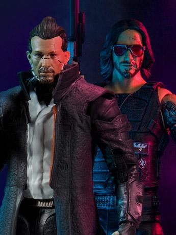 Cyberpunk 2077 Johnny Silverhand (Ver. 2) & Takemura Action Figures