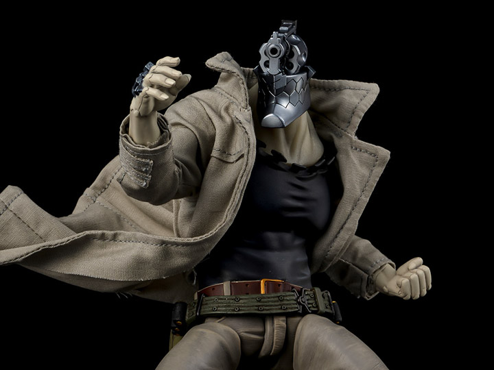 No Guns Life Juzo Inui 1/12 Scale PX Previews Exclusive Figure