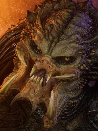 Mythos Predator Barbarian Bust