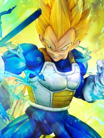 Prime 1 Dragon Ball Z Mega Premium Masterline Super Saiyan Vegeta (With Bonus)