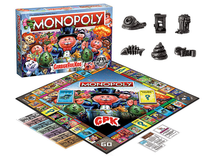 In Stock: Monopoly: Garbage Pail Kids