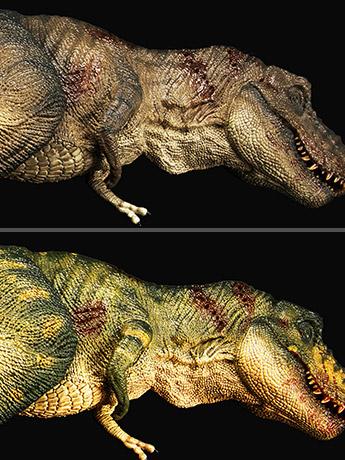 "Rebor T-Rex Carcass ""Bites the Dust"""
