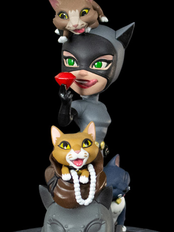 Batman: The Animated Series Q-Fig Elite Catwoman Diorama