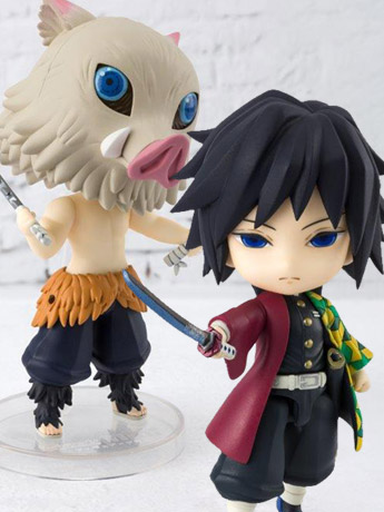 Demon Slayer Figuarts mini Giyu & Inosuke