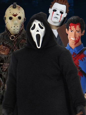NECA: Ultimate Ghostface, Part VII Jason (The New Blood) & Toony Terrors