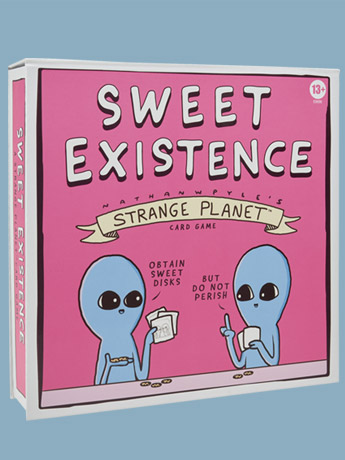 Sweet Existence: A Strange Planet Card Game