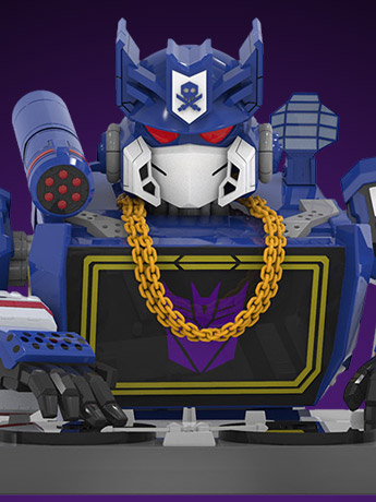 Transformers x Quiccs Soundwave Limited Edition Bust