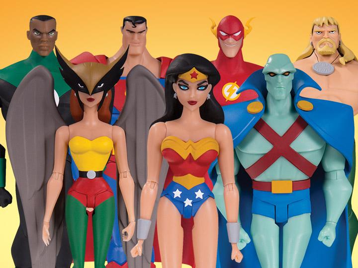 Justice League Animated Figures
