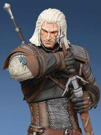 Wild Hunt Geralt Heart of Stone Deluxe Figure