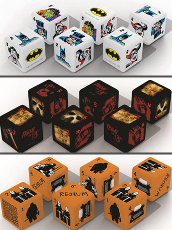 Dice Sets: Movies, TV, DC & More