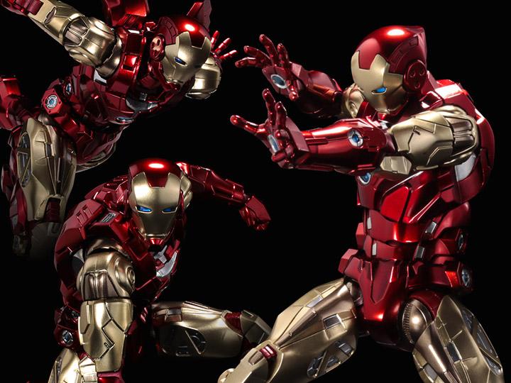 Marvel Fighting Armor Iron Man Figure