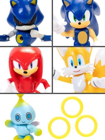 "Sonic the Hedgehog 2.5"" Figures Wave 1"