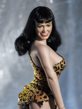 Bettie Page Queen of Pinups 1/6 Scale Figure