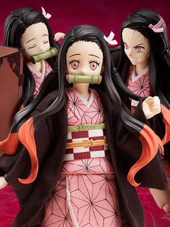 Demon Slayer: Kimetsu no Yaiba BUZZmod. Nezuko Kamado 1/12 Scale Figure