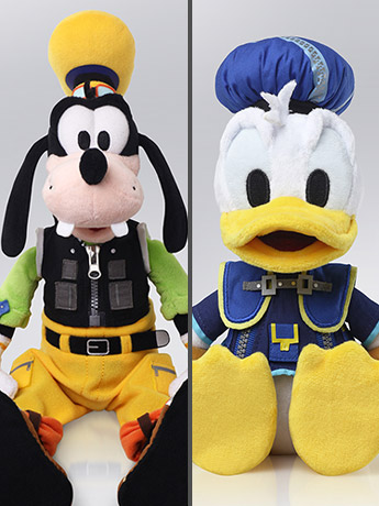 Kingdom Hearts III Donald & Goofy Plush